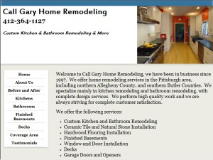 Call Gary Kitchens And Baths Pittsburgh PA Bathroom Remodeling - Gary's home and bathroom remodeling